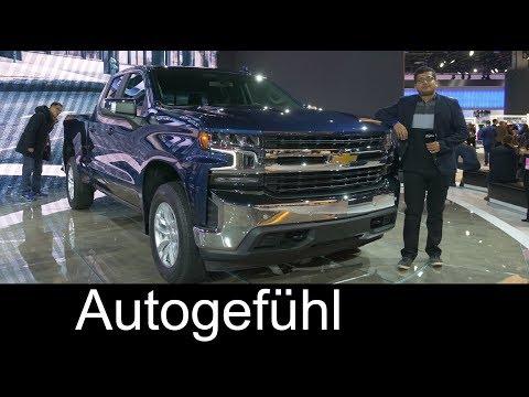 2019 Chevrolet Silverado REVIEW all-new - NAIAS 2018 - Autogefühl