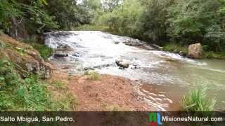preview picture of video 'Salto Mbiguá, San Pedro. Misiones Natural'