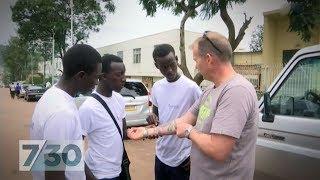 Australian peacekeeper returns to Rwanda 24 years after genocide