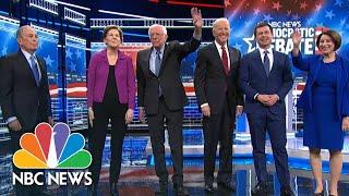 2020 Democratic Presidential Debate Pre-Show | NBC News (Live Stream Recording)