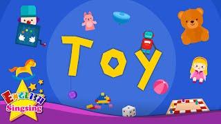 Kids từ vựng - Toy - đồ chơi vocab - Tìm hiểu tiếng Anh cho trẻ em