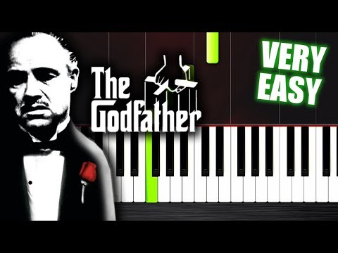 The Godfather Theme - VERY EASY Piano Tutorial for beginners by Plutax