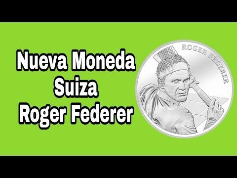 Nueva Moneda Suiza de Plata Roger Federer / Numismatica Para todos / monedas de Suiza