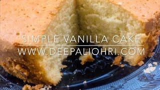 vanilla cake recipe moist with oil