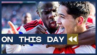 On This Day - Feyenoord - PSV: de wedstrijd van Achahbar