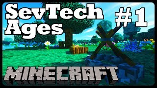 SevTech Ages #1 - Getting Started - Resources and Tool