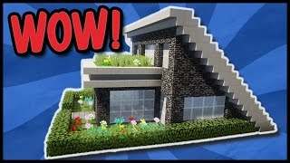 download video tutorial zweist ckiges minecraft haus bauen kleines haus f r den survival. Black Bedroom Furniture Sets. Home Design Ideas