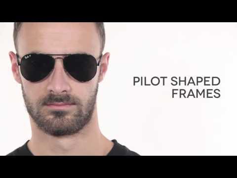 Ray Ban RB8307 Aviator Carbon Fibre Polarized  Sunglasses Review   SmartBuyGlasses