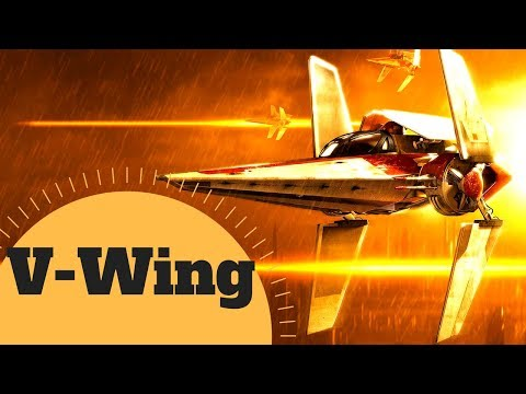 The Republic's Quick and Nimble Starfighter - V-WING STARSHIP - Star Wars Canon & Legends Explained