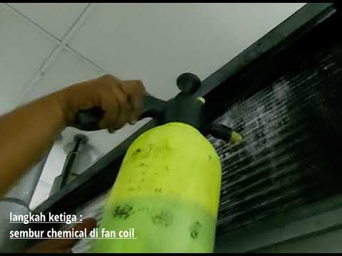Chemical Clean for Fan Coil Unit at Panasonic Malaysia
