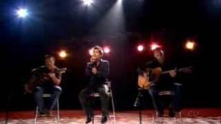 Anthony Callea performs 'Per Sempre' live