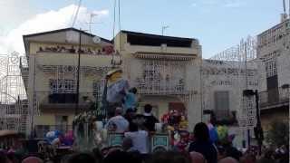 preview picture of video 'Festa di Casandrino Volo Dell'Angelo 2012 (Domenica)'