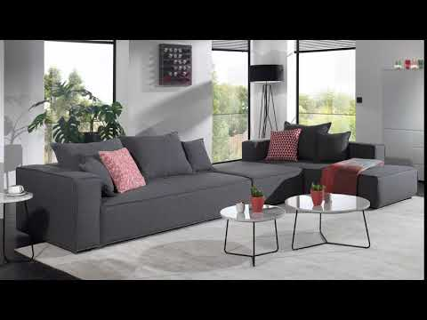 Canapé d'angle forme L avec extrémité ouverte Soho