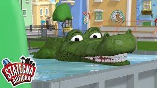 Hladový krokodýl | Kreslené pro Děti | Animované pro Děti