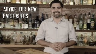 Advice For New Bartenders
