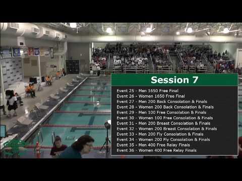 2018 MAC Swimming Championships - Session 7