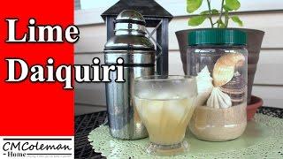 How To Make A Lime Daiquiri