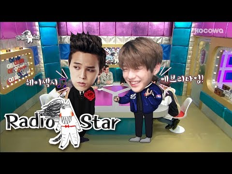 Kang Daniel is Like G-Dragon?!  [Radio Star Ep 560]