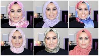 للعيد : لفات حجاب2019  في دقيقة سهلة وأنيقة     HIJAB TUTORIAL  