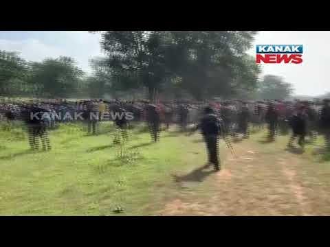 Tribal Villagers Protest Against New Police Camp In Chhattisgarh's Dantewada