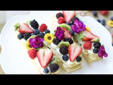 How to Make a Cream Tart Cake
