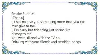 Basement Jaxx - Smoke Bubbles Lyrics