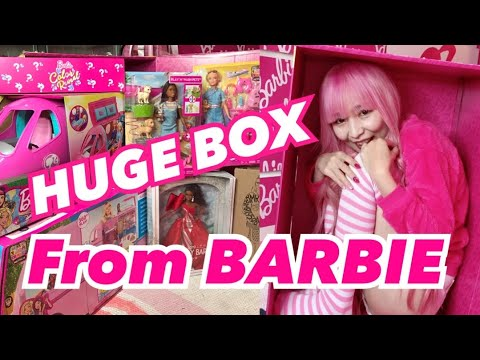 I RECEIVED A HUGE PINK BOX from BARBIE ♡ BARBIE HAUL 2019