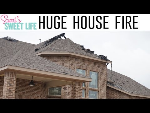 OUR HOUSE BURNED DOWN/ ACCIDENTAL FIRE | Final Dream Home Vlog