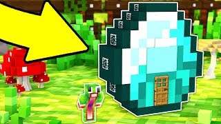 HOW TO LIVE INSIDE A DIAMOND IN MINECRAFT!