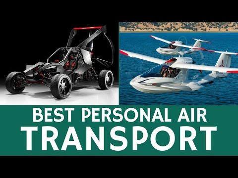 Future Of Personal Air Transportation: Top 10 Flying Cars, Hoverboards And Compact Helicopters