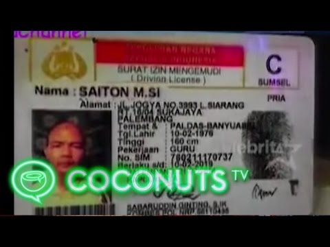 Ordinary Indonesians With Extraordinary Names | Coconuts TV