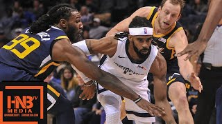 Utah Jazz vs Memphis Grizzlies Full Game Highlights | 11.12.2018, NBA Season