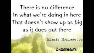 Alanis Morissette - Underneath (#LYRICS)