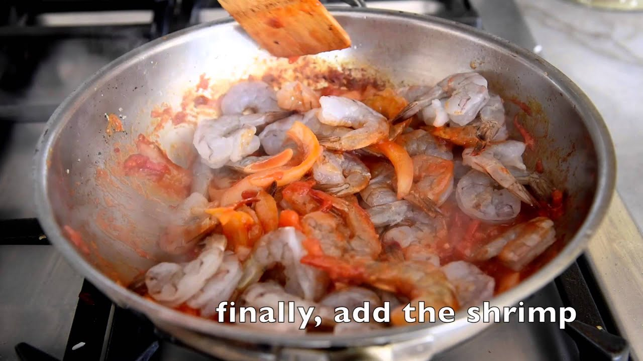 Spicy Chili Garlic Shrimp with Coconut Rice {Video}