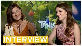 Trolls | Anna Kendrick & Lena Meyer-Landrut | Exclusive Interview (2016)