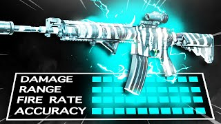 The NEW M4A1 SNIPER Class.. (BEST CLASS SETUP in WARZONE)