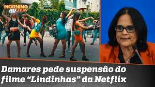'Estou brava, Brasil!': Damares pistola com Netflix e filme acusado de sexualizar crianças