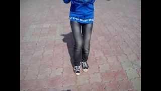 Анастасия Лис танцует драм степ