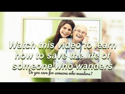 Video Alzheimers Care for Alzheimer's Symptoms Like Wandering or Getting Lost