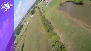 FPV Backyard Rip - Freestyle Acro Drone - 6s Racer Quad - Flips Rolls Split S Pond Gaps