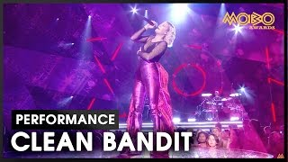'Rockabye' | CLEAN BANDIT ft. Anne-Marie | live at MOBO Awards | 2016 | MOBO