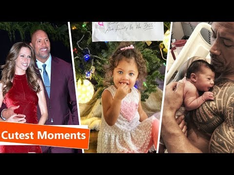 Dwayne 'The Rock' Johnson's Wife and Kids 2018 ► Cute and Funny Moments (видео)