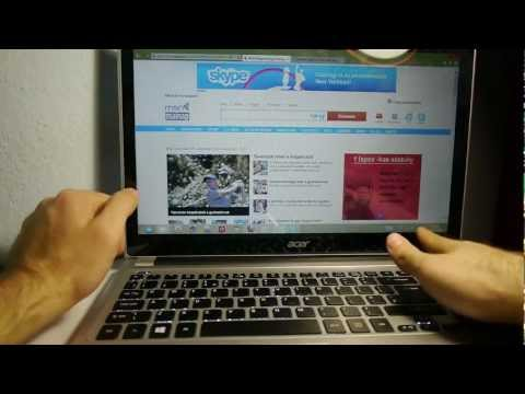 Acer Aspire V5 Touch Hands On