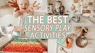 EASY & EDUCATIONAL SENSORY PLAY ACTIVITIES 2019