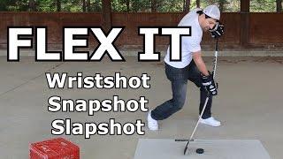 Flexing The Stick - Wristshot, Slapshot And Snapshot - Complete Shot Video 5