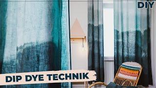 Stoff Hack - Bettwäsche und Gardinen färben leicht gemacht