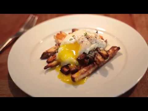 Sweet Potato (or Baked Potato) Egg Hash