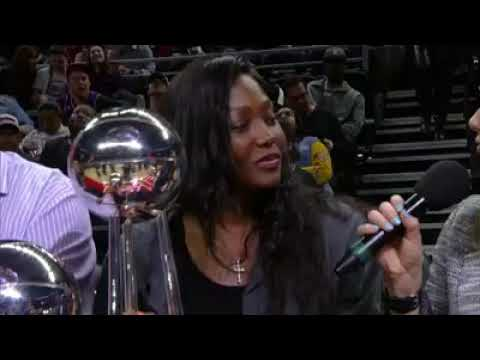 Cheryl Ford Interview at the Palace