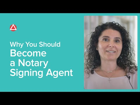 Why You Should Become a Notary Signing Agent - YouTube