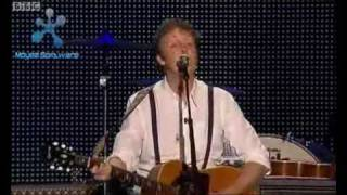 Paul McCartney    Yesterday    Live At Anfield, Liverpool 1st June